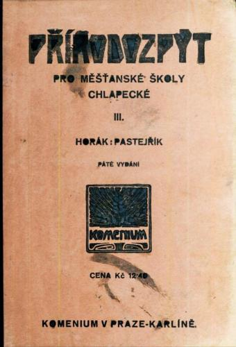 Horak Pastejrik Prirodozpyt ProMestanskeSkoly Chlapecke III 1931 Stránka 01