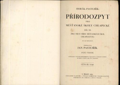 Horak Pastejrik Prirodozpyt ProMestanskeSkoly Chlapecke III 1931 Stránka 02