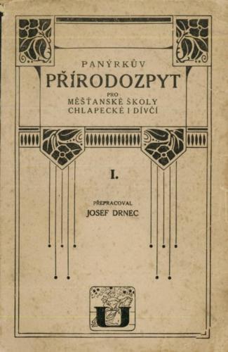 PanyrkuvPrirodozpyt I 1925 Stránka 01