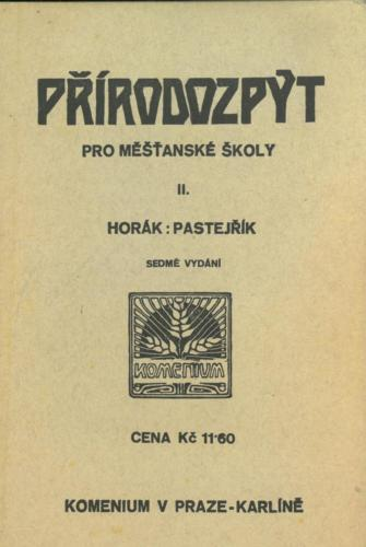 Horak Pastejrik Prirodozpyt ProSkolyMestanskeDivci II 1932 Stránka 02