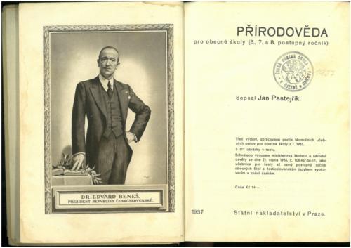Pastejrik PrirodovedaProObecneSkoly(SestySedmyAOsmyRokSkolni) 1937 Stránka 002